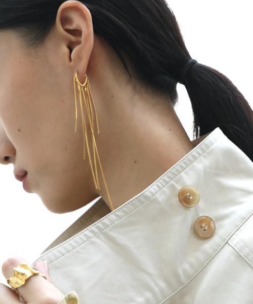 【chuclla】Tassel earrings cha193