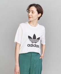 【WEB限定】<adidas>トレフォイルTシャツ