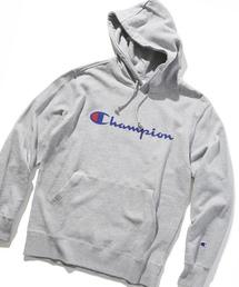 Champion(チャンピオン)の「【Champion】ロゴプリント プルオーバーパーカー(パーカー)」