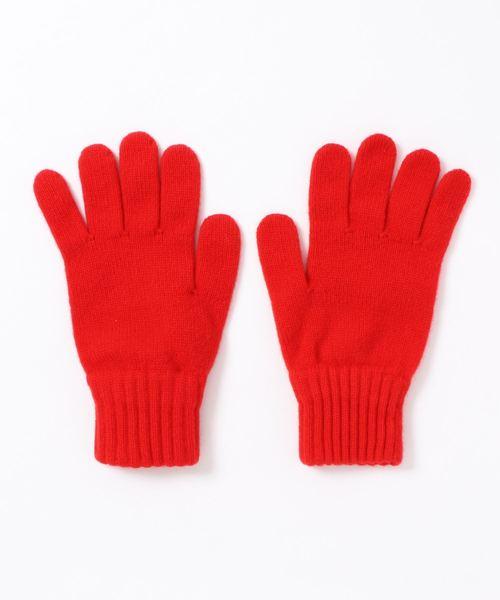 A.P.C.(アーペーセー)の「GANTS TIM 19A(手袋)」|レッド