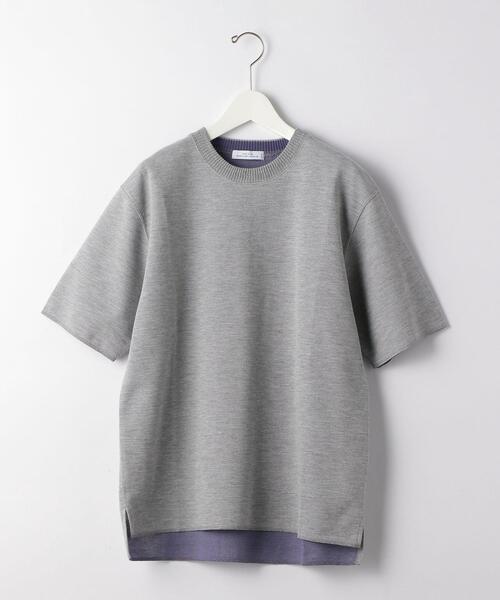 CSM ダブルフェイス クルーネック 半袖 カットソー Tシャツ