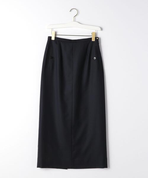 『BRACTMENT(ブラクトメント)』 BM W/PE ツイル ロングタイトスカート