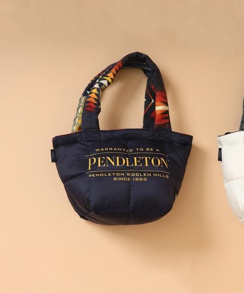 【 PENDLETON x TAION / ペンドルトン × タイオン 】 REVERSIBLE MINI BAG リバーシブル ミニ バッグ トート ,ミニトート