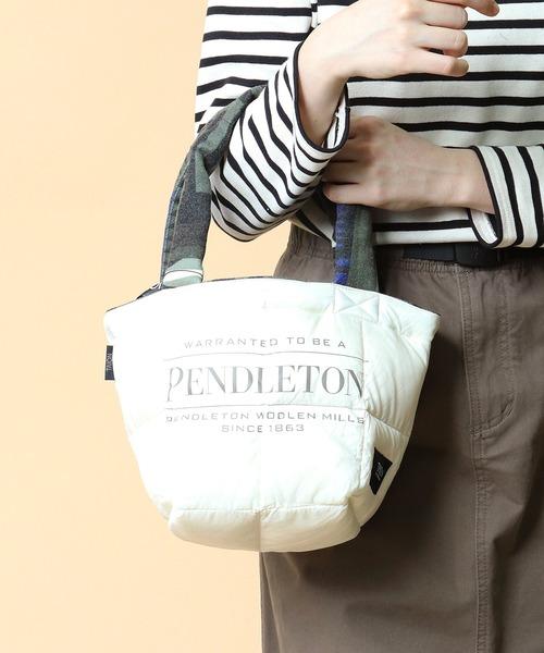 【 PENDLETON x TAION / ペンドルトン × タイオン 】REVERSIBLE MINI BAG リバーシブル ミニ バッグ トート ,ミニトート