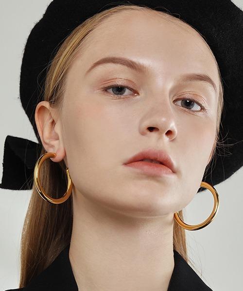 【chuclla】Big hoop earrings cha194