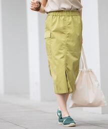 ツイルタイトミリタリースカート