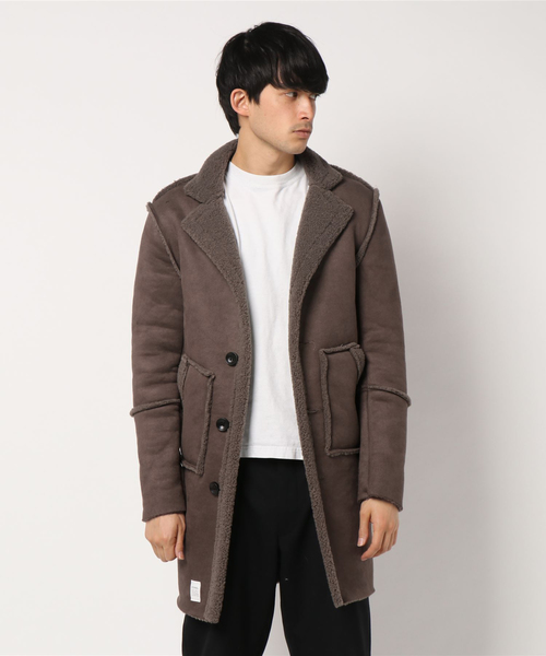 Smooth warm Mouton Touch Coat
