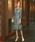 Dorry Doll(ドリードール)の「はしごレース切替フラワーコードレース使いミモレ丈ワンピース(ドレス)」|ライトカーキ
