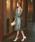 Dorry Doll(ドリードール)の「はしごレース切替フラワーコードレース使いミモレ丈ワンピース(ドレス)」|詳細画像