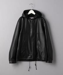 <TUBE> LEATHR FOOD COAT/アウター
