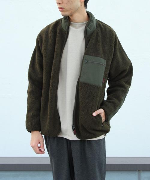 GRAMICCI/グラミチ ボアフリースジャケット BOA FLEECE JAKET GUJK-20F043