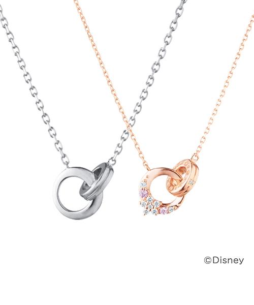 Canal 4℃(カナルヨンドシー)の「Disney Princess Collection シルバー ペアネックレス【Men's】(ネックレス)」|詳細画像