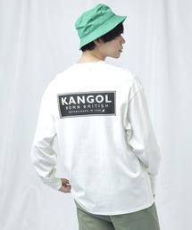 KANGOL/カンゴール コラボ 別注ロゴ刺繍 L/S オーバーサイズカットソー -2021SPRING STYLE-ホワイト系その他2
