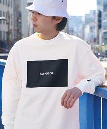 KANGOL/カンゴール コラボ 別注ロゴ刺繍 L/S オーバーサイズカットソー -2021SPRING STYLE-ホワイト系その他4