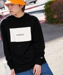 KANGOL/カンゴール コラボ 別注ロゴ刺繍 L/S オーバーサイズカットソー -2021SPRING STYLE-ブラック系その他4