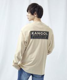 KANGOL/カンゴール コラボ 別注ロゴ刺繍 L/S オーバーサイズカットソー -2021SPRING STYLE-ベージュ系その他2