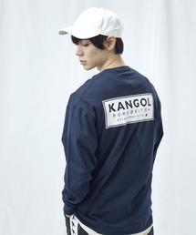 KANGOL/カンゴール コラボ 別注ロゴ刺繍 L/S オーバーサイズカットソー -2021SPRING STYLE-ブルー系その他2