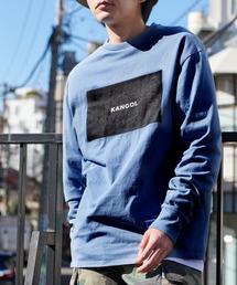 KANGOL/カンゴール コラボ 別注ロゴ刺繍 L/S オーバーサイズカットソー -2021SPRING STYLE-ブルー系その他5