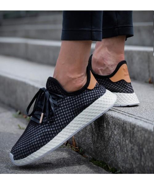 15d339d837eed adidas(アディダス)の「adidas Originals DEERUPT RUNNER CORE BLACK CORE BLACK