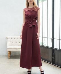 793a130cf0ea0 ドレス・ワンピース(ドレス・ワンピース)の「オーガンジー シフォンのビスチェ風