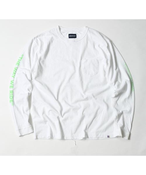 MAGIC NUMBER(マジック ナンバー)の「US COTTON PRINT L/S TEE(Tシャツ/カットソー)」|ホワイト