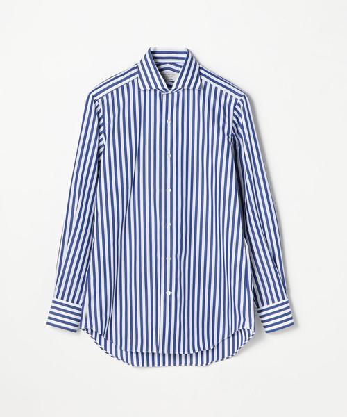 120/2コットンブロード ワイドカラー ドレスシャツ NEW WIDE-5