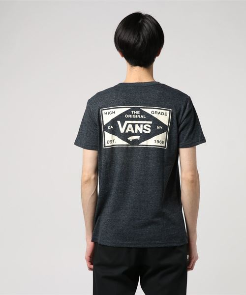 VANS ヴァンズ Vans Heather S/S Tee CD19SS-MT04 BLACK
