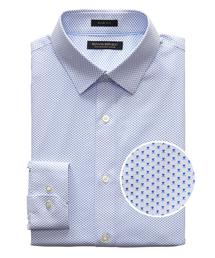 BANANA REPUBLIC(バナナリパブリック)のGrant Slim-Fit ノンアイロン プリント ドレスシャツ(シャツ/ブラウス)