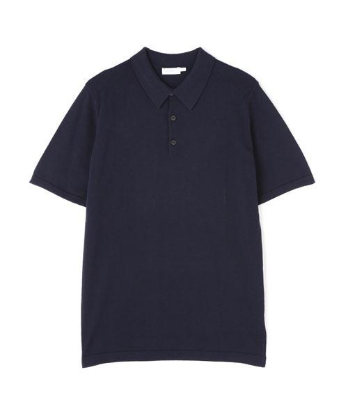 SUNSPEL(サンスペル)の「SUNSPEL / MEN'S SEA ISLAND COTTON(ポロシャツ)」 ネイビー