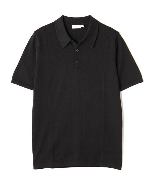SUNSPEL(サンスペル)の「SUNSPEL / MEN'S SEA ISLAND COTTON(ポロシャツ)」 ブラック