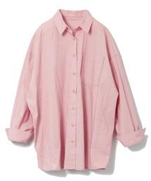 タイプライターシャツピンク