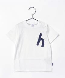 HAKKA BABY(ハッカベビー)の[ベビー・ボーイズ・スーピマコットン]hプリントTシャツ(Tシャツ/カットソー)