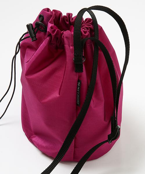 【20/80】トゥエンティーエイティー/ RIP STOP NYLON DRAWSTRING SMALL SHOULDER BAG