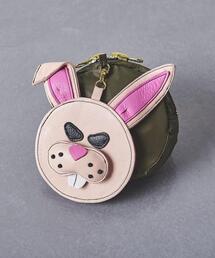 別注<LUDLOW(ラドロー)>ANIMAL POCKETABLE バッグ PINK†◆