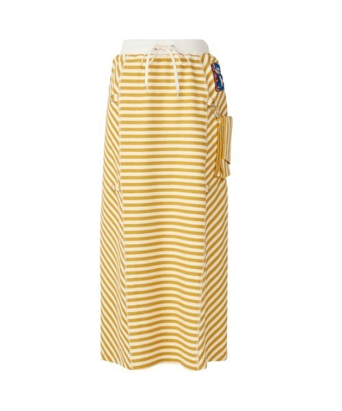 DOPE WOLF刺繍 2WAYスカート