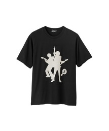 HG JP BACKLIGHT Tシャツブラック