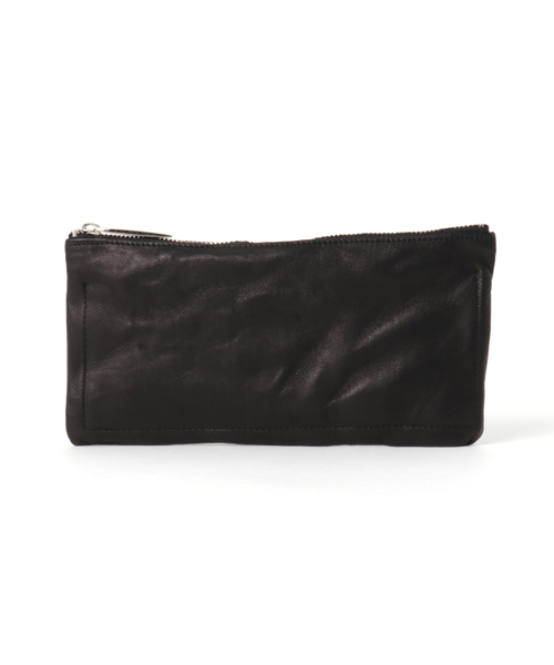 国内最安値! Leather-washed long long wallet