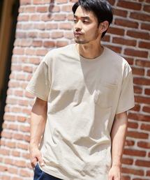 ギルダン ビッグシルエット USAオーバーサイズ 1/2スリーブTシャツ 無地T トップス Tシャツブラウン系その他2