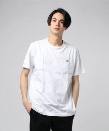 LACOSTE (ラコステ) Crew NECK T-SHIRTS クルーネックTシャツ(Tシャツ/カットソー)