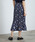ROPE' PICNIC(ロペピクニック)の「フラワーランダムヘムプリーツスカート(スカート)」|詳細画像