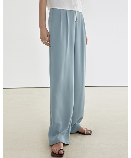 【Fano Studios】【2021SS】Loose drape straight pants FC21K056