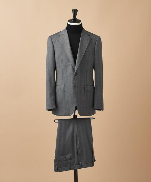 <SOVEREIGN(ソブリン)> ヘリンボーン 2ボタン スーツ