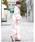 bonheur saisons(ボヌール セゾン)の「浴衣3点セット 矢羽根柄と水玉 (浴衣+帯+下駄)「bonheur saisons/ボヌールセゾン」(着物/浴衣)」|詳細画像