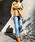 YANUK(ヤヌーク)の「YANUK ストレート デニムパンツ ANNETTE (アネット) /57191011(デニムパンツ)」 ライトブルー