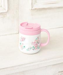 Afternoon Tea(アフタヌーンティー)のフラワー柄ステンレスマグカップ(グラス/マグカップ/タンブラー)