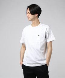 LACOSTE (ラコステ) CREW NECK T POCKET ベーシッククルーネックポケットTシャツ (半袖)(Tシャツ/カットソー)