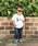 Vicente(ヴィセンテ)の「【Vicente×MERCH】Hula kidsコラボTシャツ(Tシャツ/カットソー)」|ホワイト