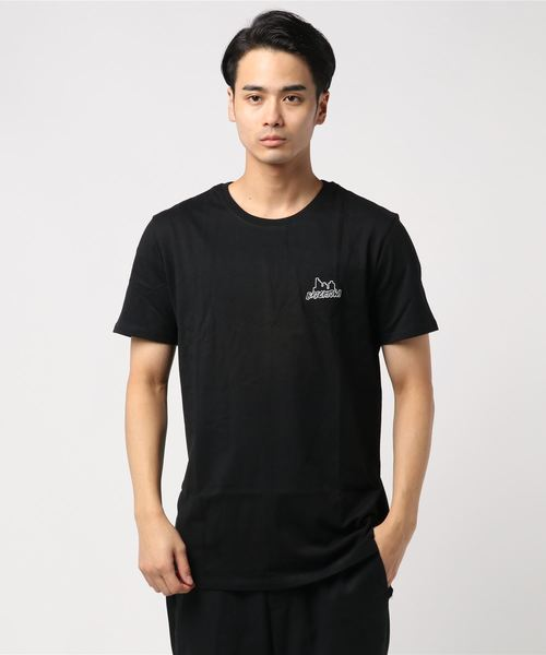 db1f125372ceae セール】【BRICKTOWN】ワンポイントTシャツ(ロゴ)(Tシャツ/カットソー ...