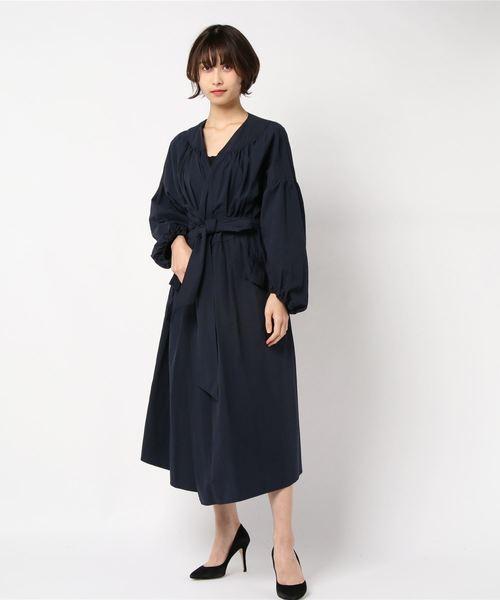 【新品】 【セール】【Lsize】おりぼんボリュームワンピコート(シャツワンピース)|franchelippee(フランシュリッペ)のファッション通販, 【ファッション通販】:6d8b9204 --- 5613dcaibao.eu.org