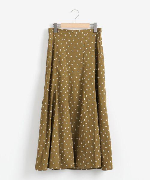 日本最大の Petit Fleur イレギュラーヘムスカート, セタガヤク d4de0708